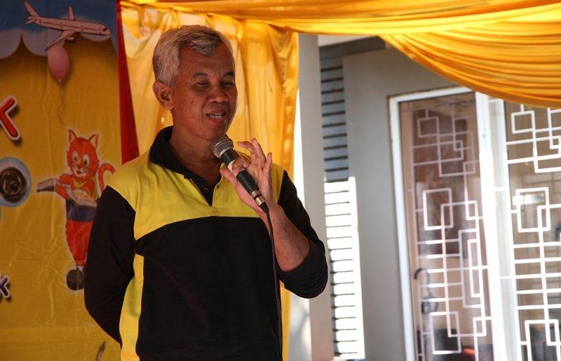 Sambutan dari Wiwi Yunianto selaku perwakilan biMBA Pusat.