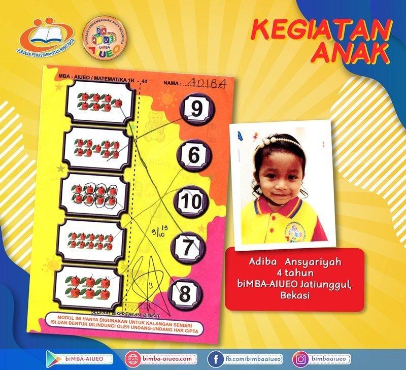 Permainan Modul Matematika Adiba Ansyariyah
