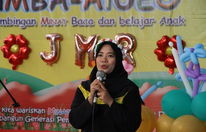 Sambutan Kepala Unit biMBA Jati Mulya Regency.