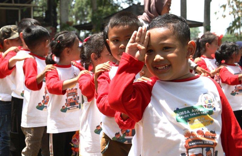 120 Murid biMBA Malibu Taman Palem Larut dalam Kegembiraan