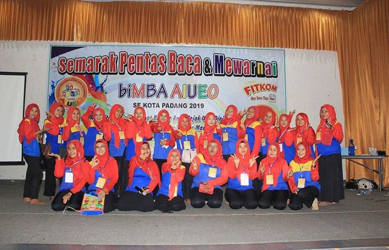 Foto bersama motivator biMBA.