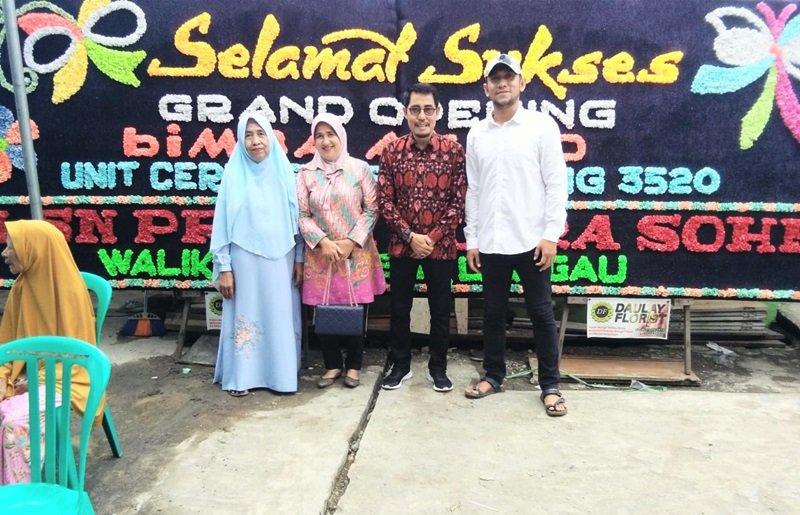 Foto bersama keluarga biMBA Unit Cereme Taba.