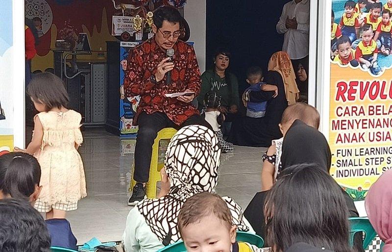 Doa yang dipimpin Kepala Dinas Damkar & PB Kota Lubuklinggau