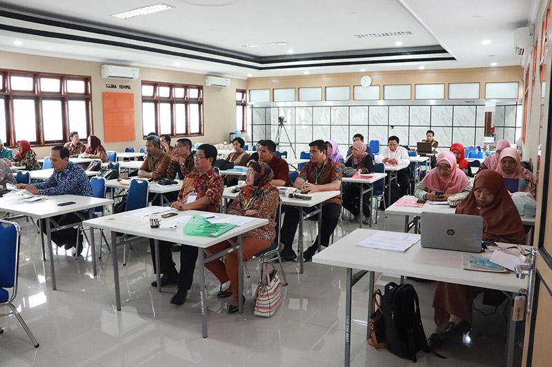 Suasana acara pembukaan rapat kerja yang dihadiri oleh seluruh pengurus pusat GPMB.