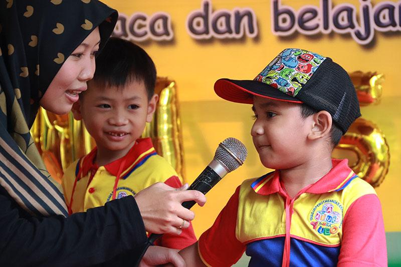 Kesabaran Motivator biMBA dalam Membimbing Anak Aktif