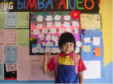 biMBA Memberikan Senyuman bagi Anak Indonesia