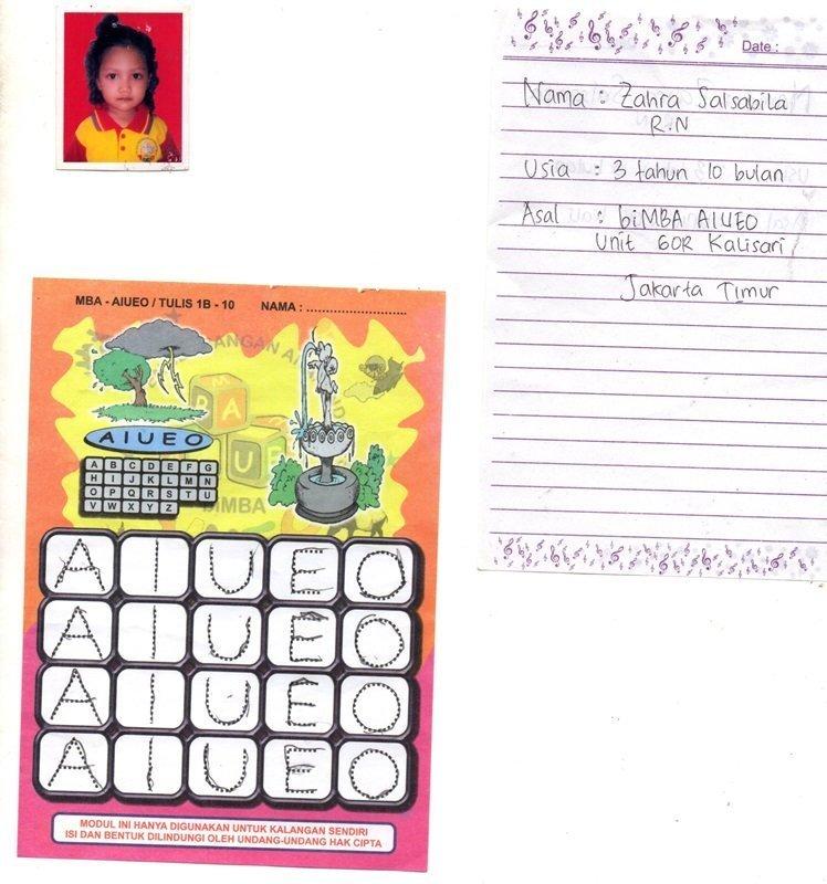Permainan Modul Anak biMBA GOR Kalisari