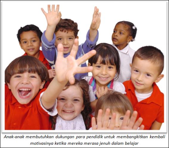 Memotivasi Anak Agar Tetap Semangat Selama Pembelajaran